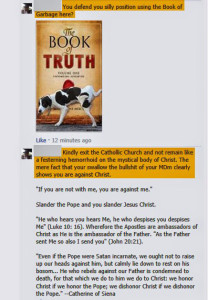 Attacks against Book of Truth